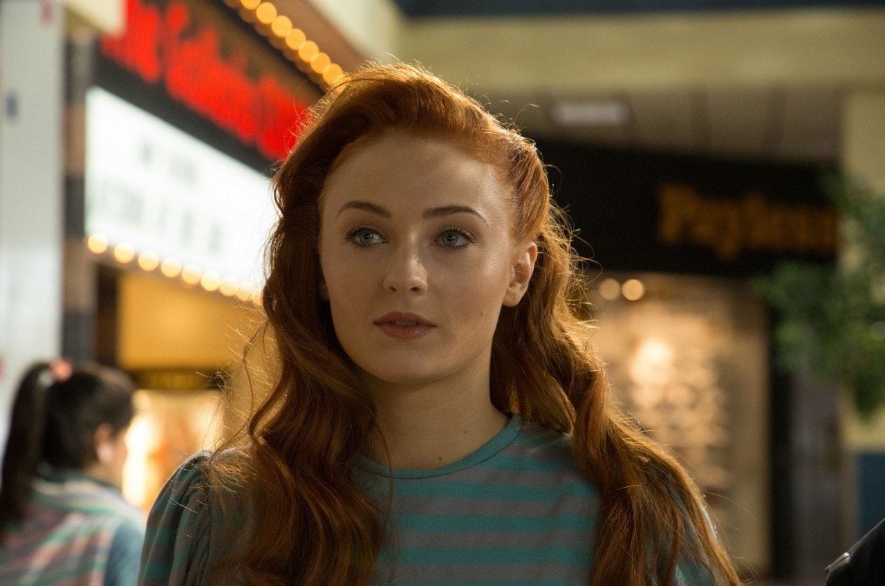DF-00112 Sophie Turner is Jean Grey in X-MEN: APOCALYPSE.