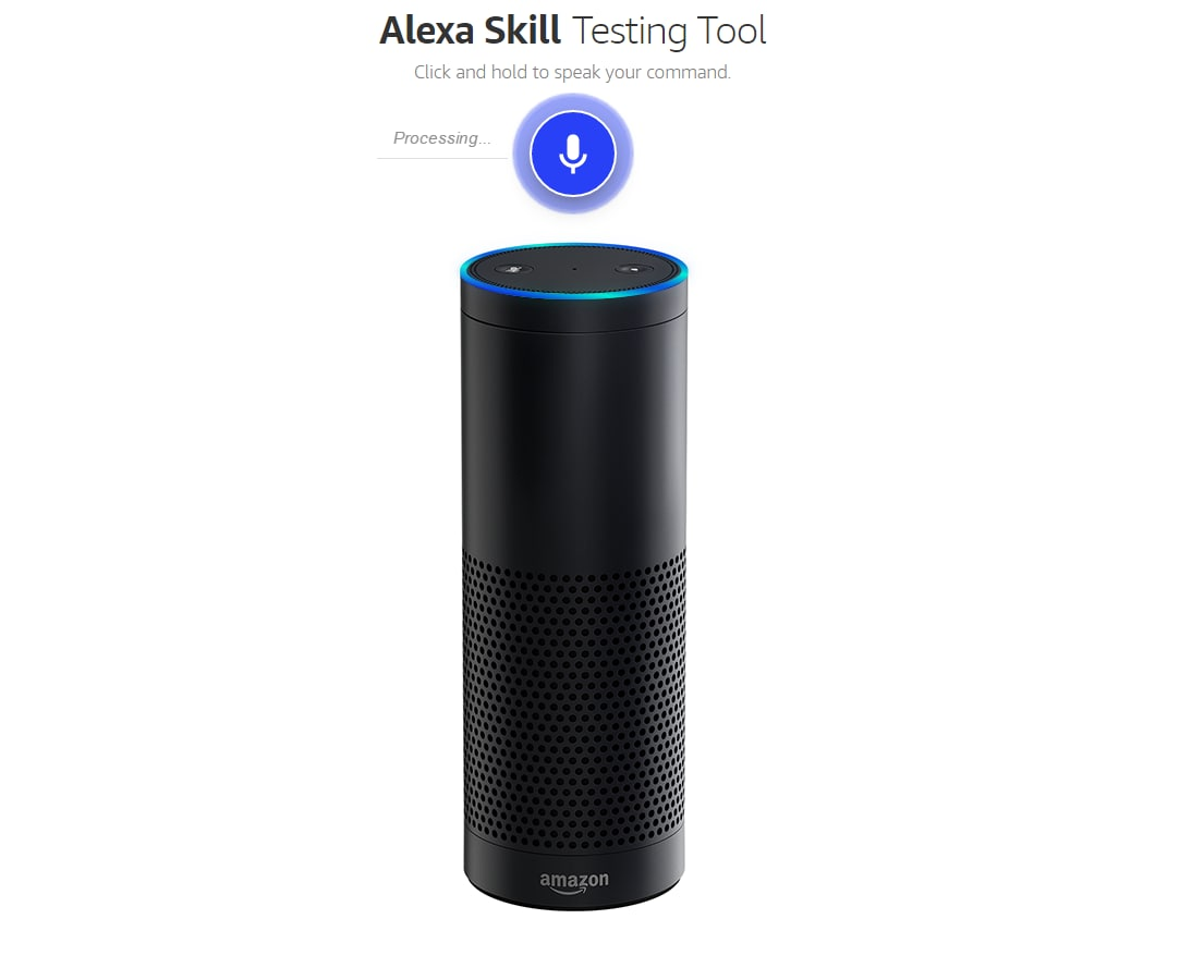 amazon test alexa