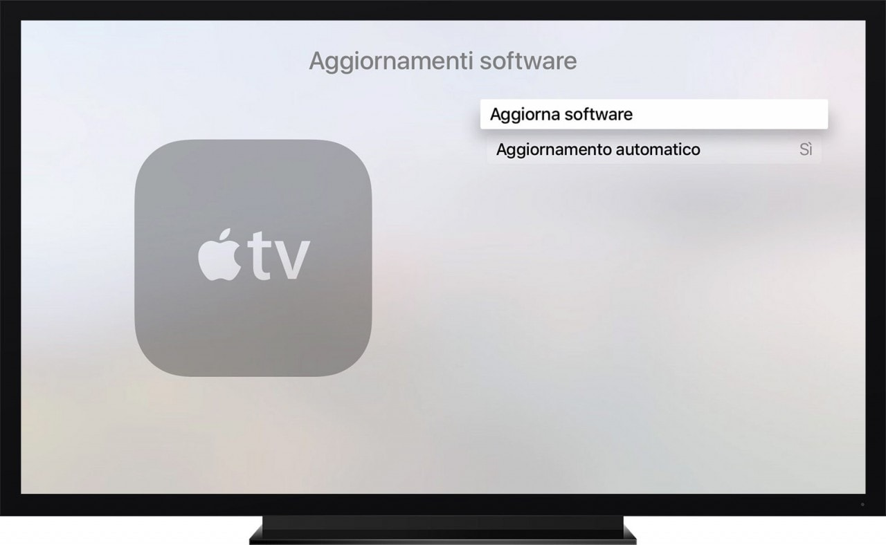 TvOS di Apple TV riceve l'aggiornamento alla versione 9.2.1