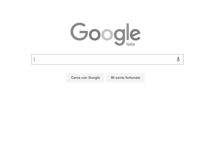 google bianco nero final