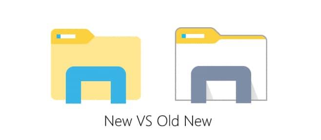 nuova icona file explorer