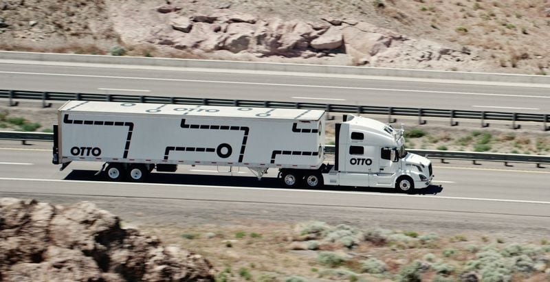 otto camion guida autonoma
