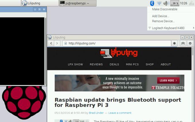 Raspbian si aggiorna per supportare al meglio Raspberry Pi 3 (foto)