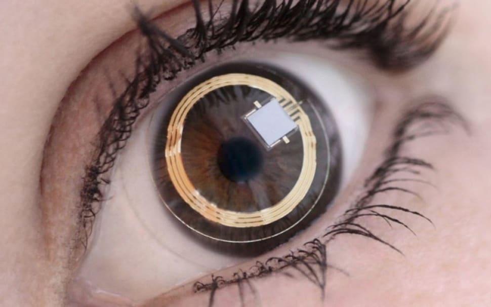 sony brevetto lenti a contatto fotocamera