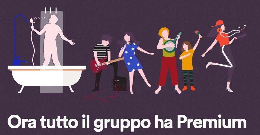 spotify family tra amici