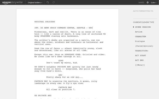 Amazon Storywriter scrittura copioni sceneggiature_2