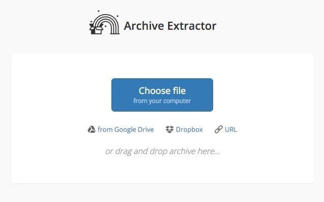 Archive Extractor