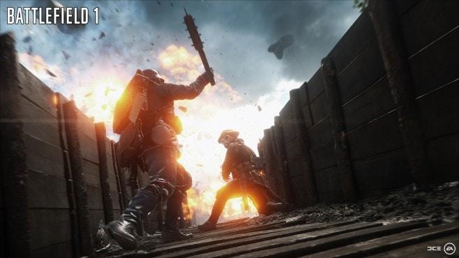 Battlefield 1 corpo a corpo