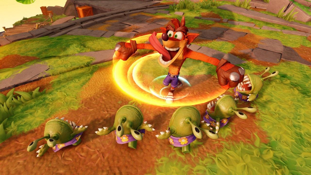 8 minuti in compagnia di Crash Bandicoot in Skylanders Imaginators (video)