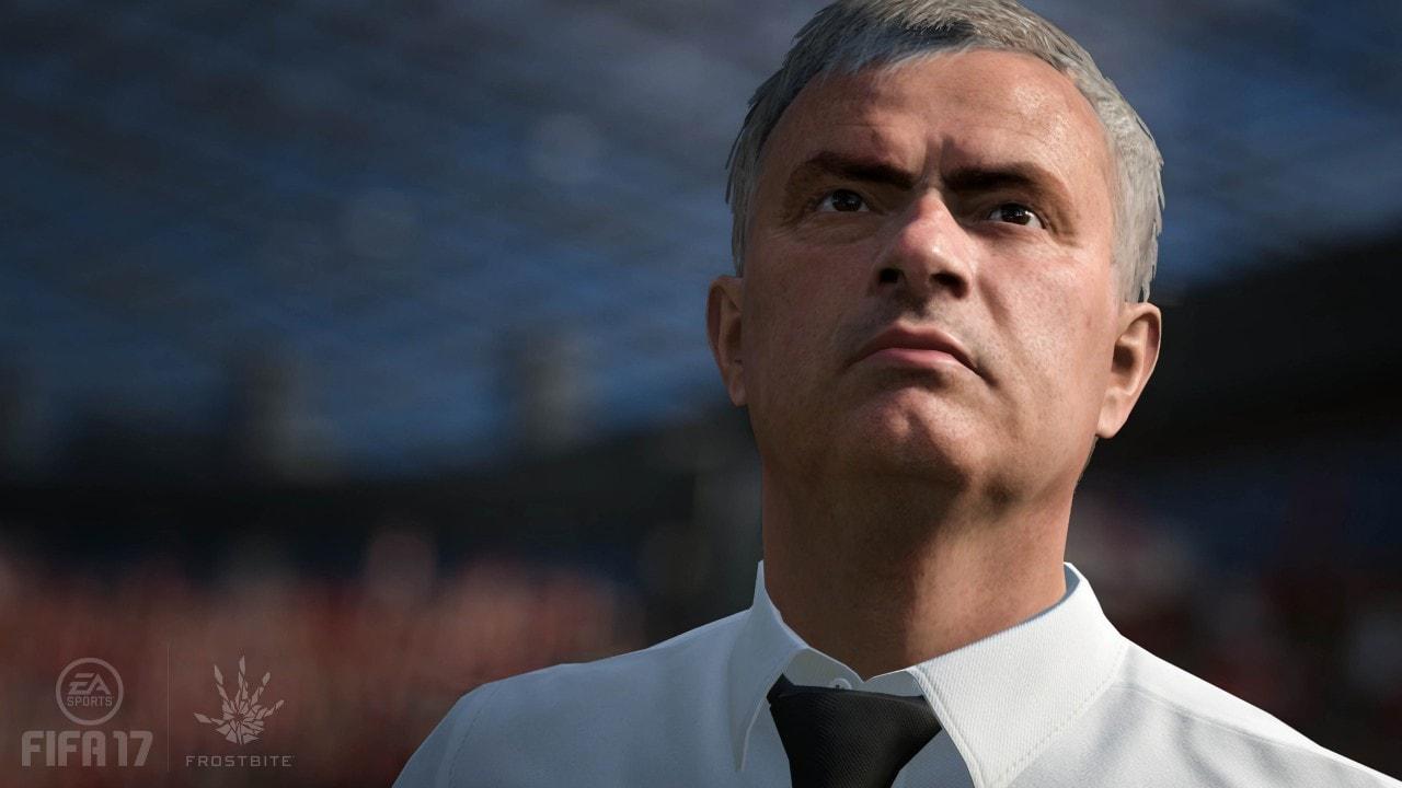 FIFA 17 esibisce i muscoli nell'ultimo trailer, e c'è anche Mourinho! (video)