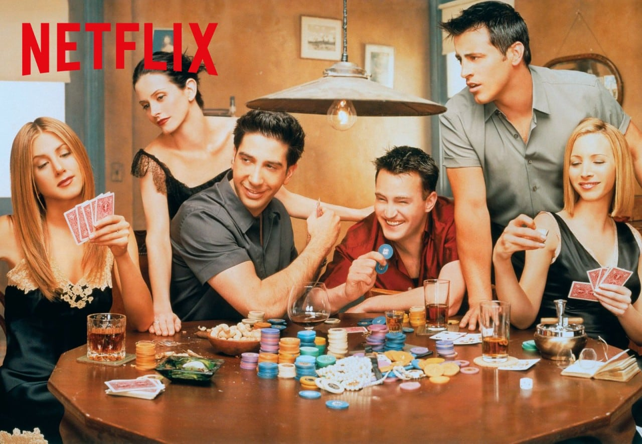 Friends arriverà su Netflix dal 1 luglio