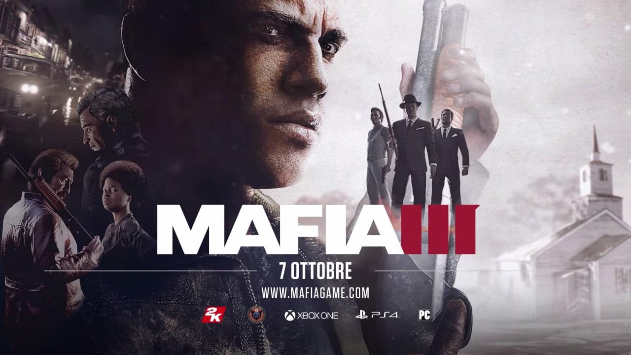 Doppio appuntamento con Mafia III: ecco un nuovo trailer e 22 minuti di gameplay (video)