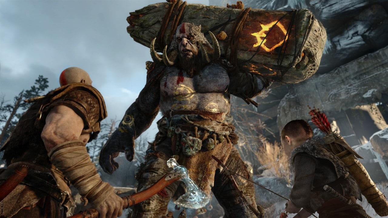 God of War E3 2016 - 3