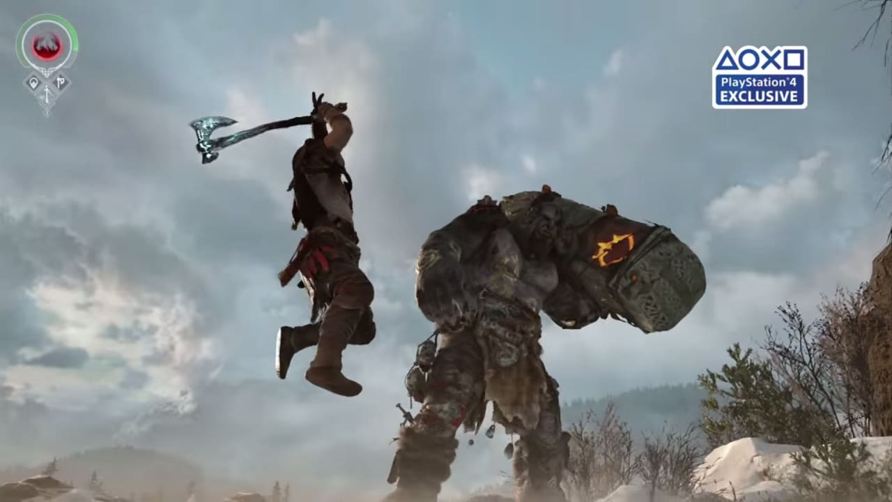 God of War trailer screen - 1