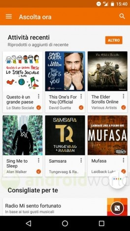 Google Play Music podcast Italia_2