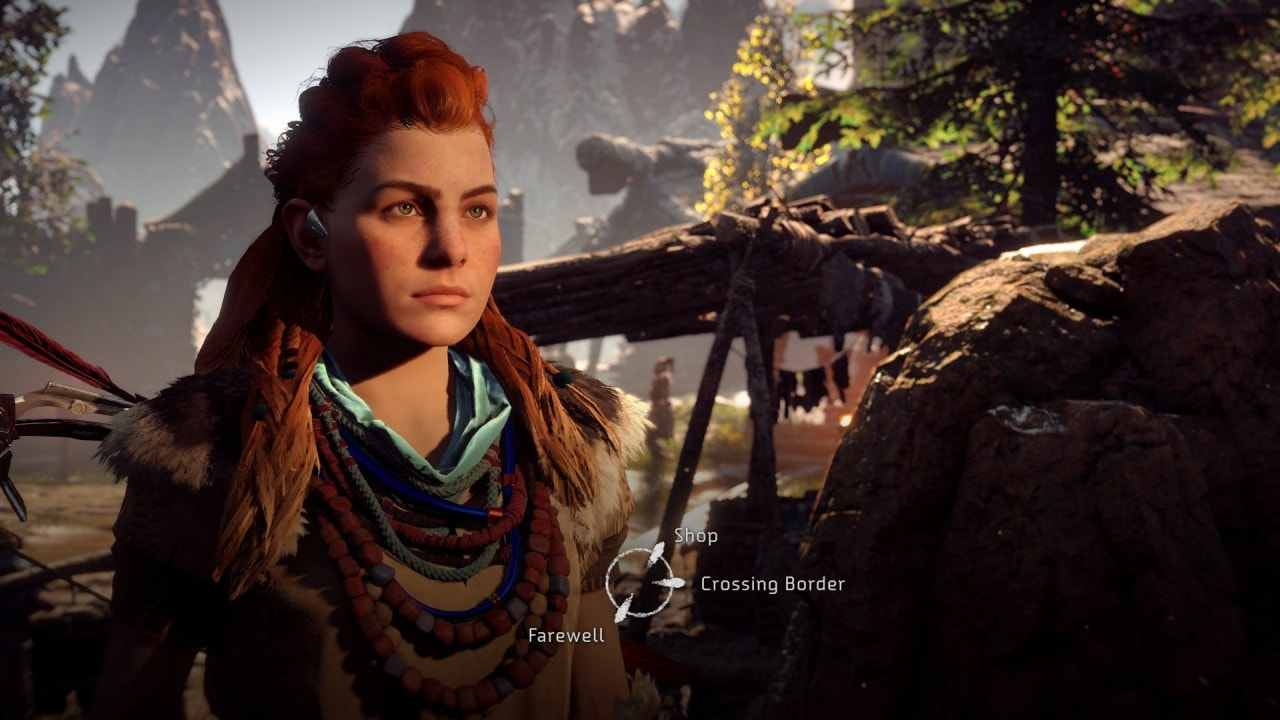 Gameplay Horizon Zero Dawn