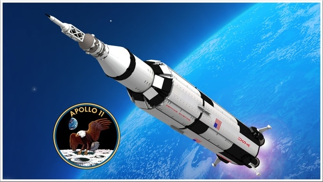 LEGO Apollo 11 Saturn V –  1