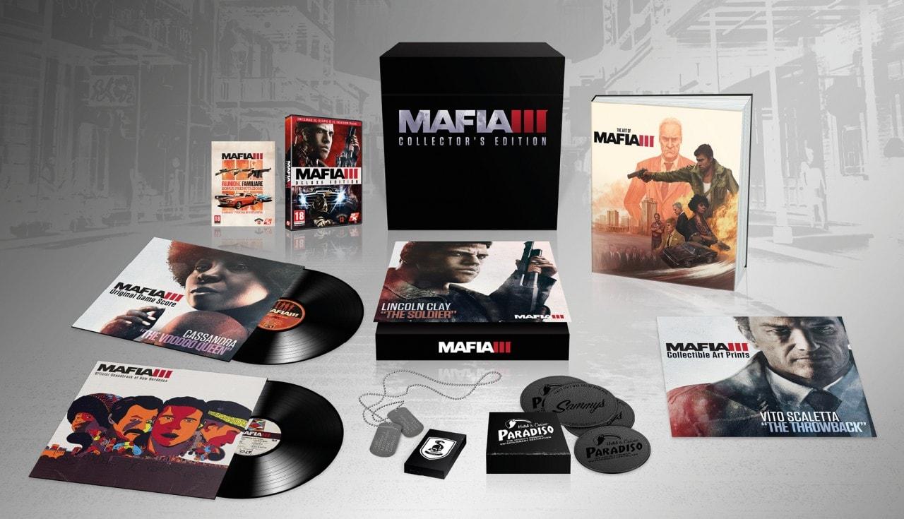 Ecco cosa include la gustosa Mafia III Collector's Edition