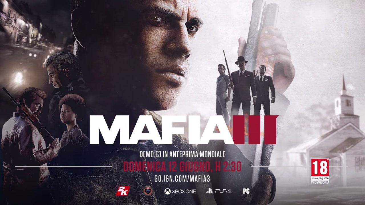 Mafia III Trailer E3