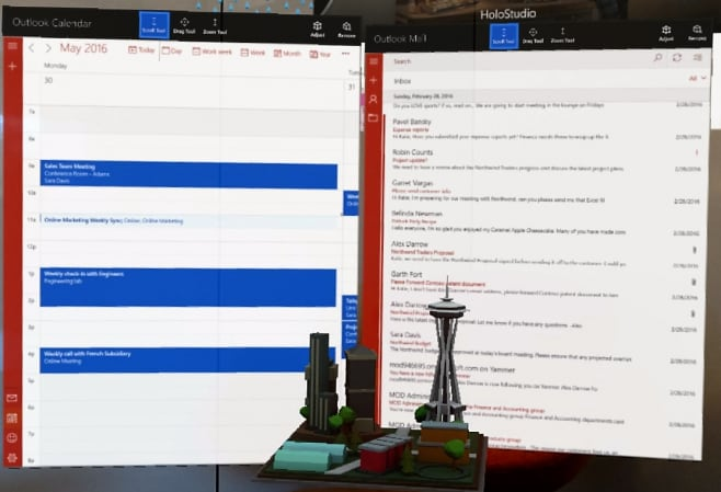 Outlook Calendario HoloLens_1