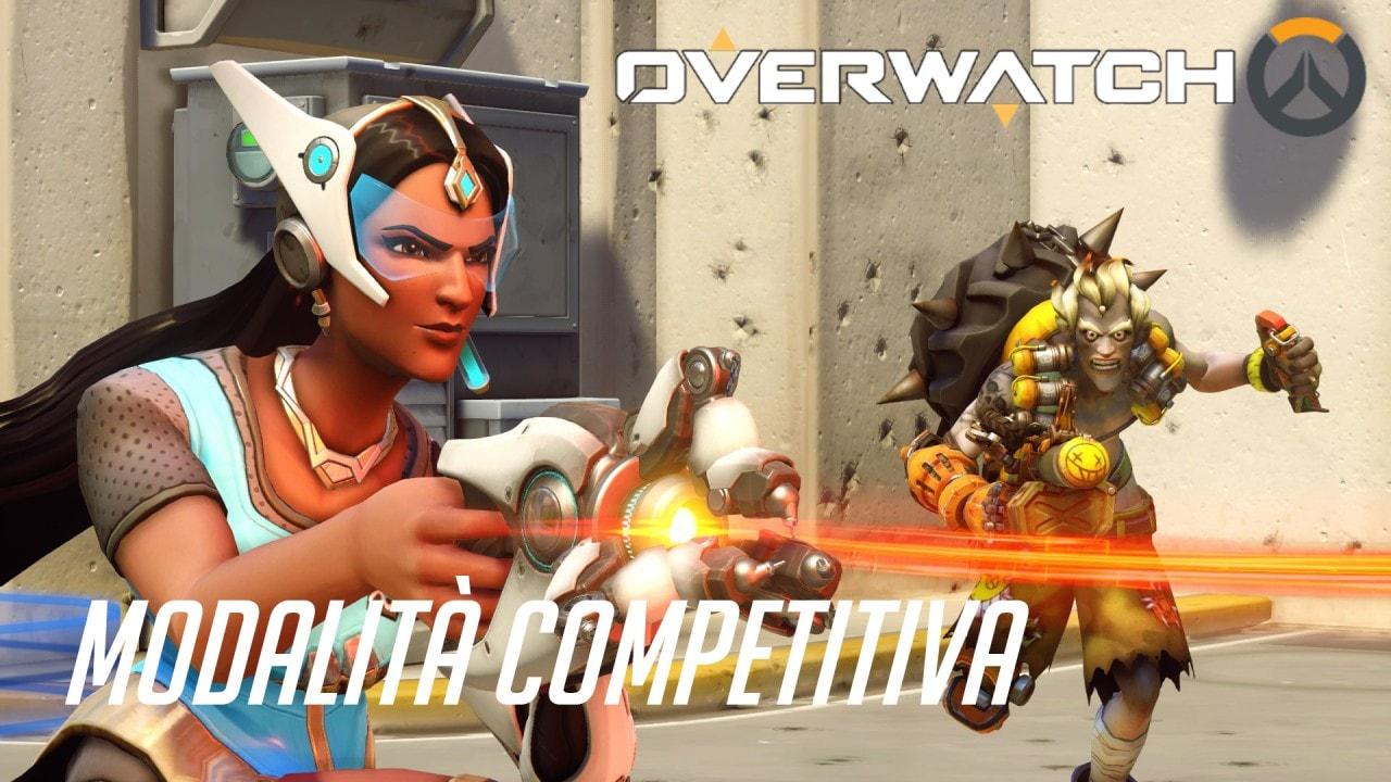 Overwatch Modalità Competitiva
