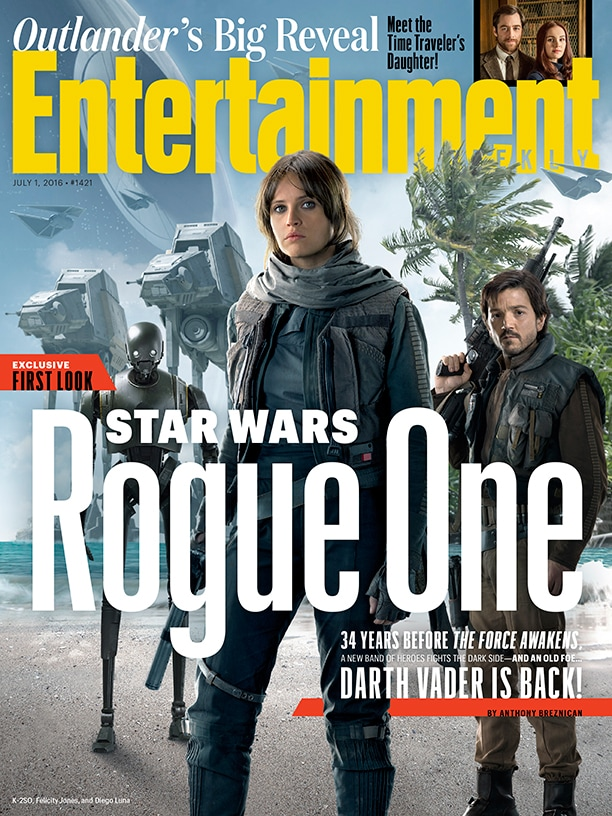 Rogue One Darth Vader Copertina EW