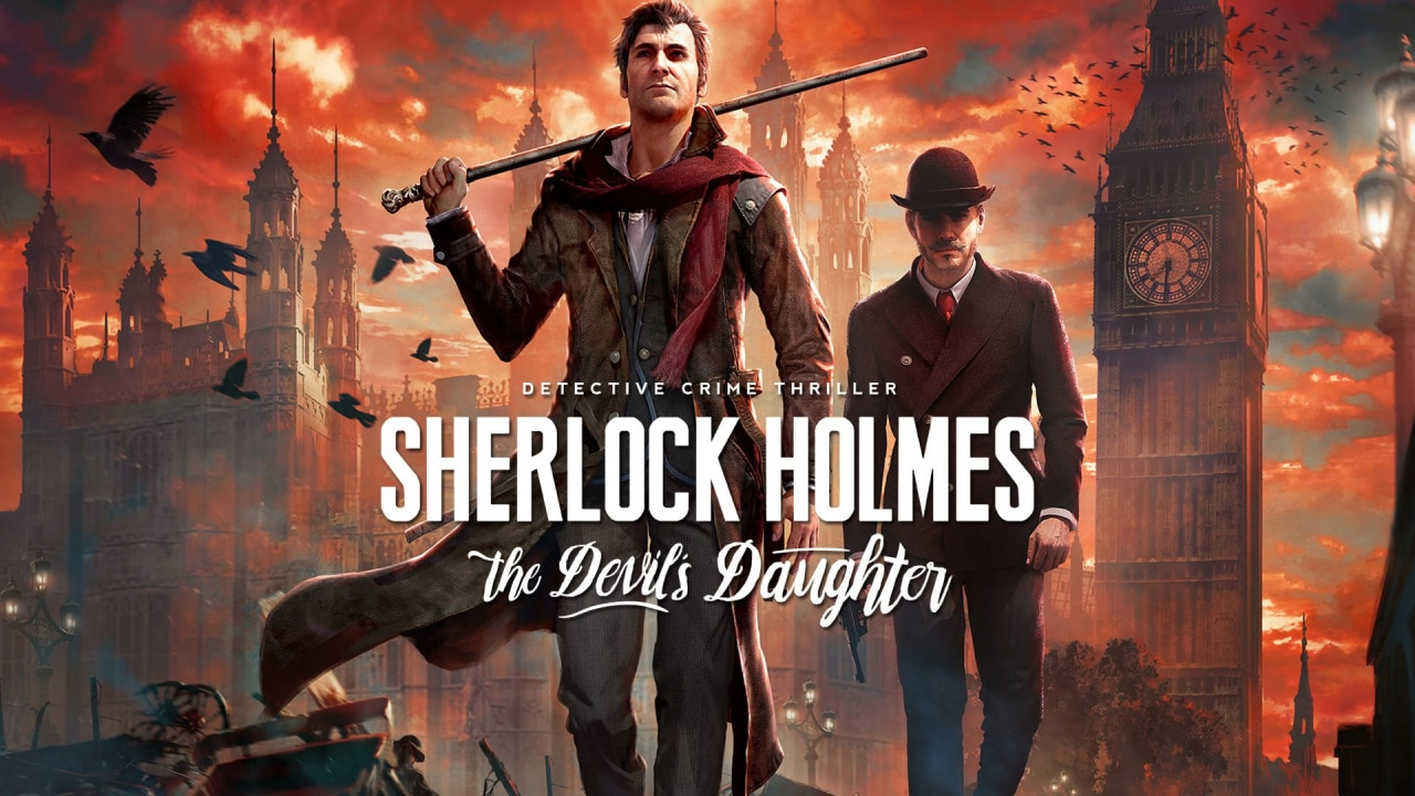 Sherlock Holmes The Devil's Daughter Title