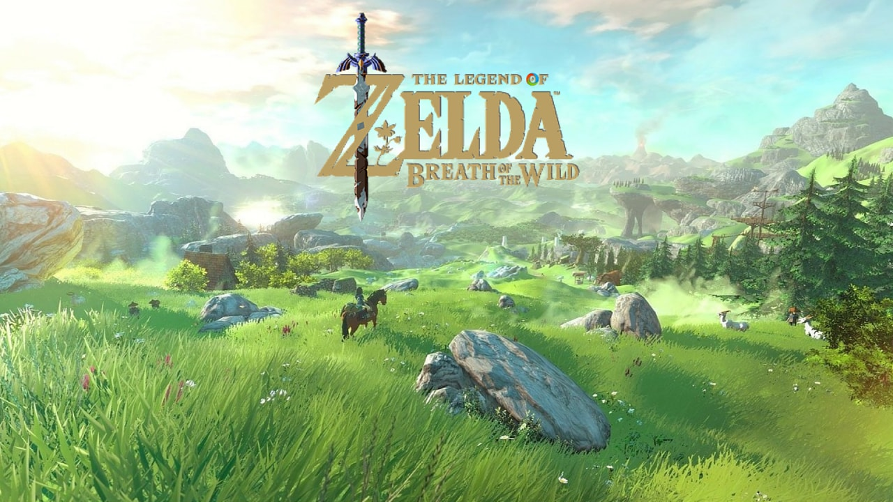 The Legend of Zelda Breath of Wild Title
