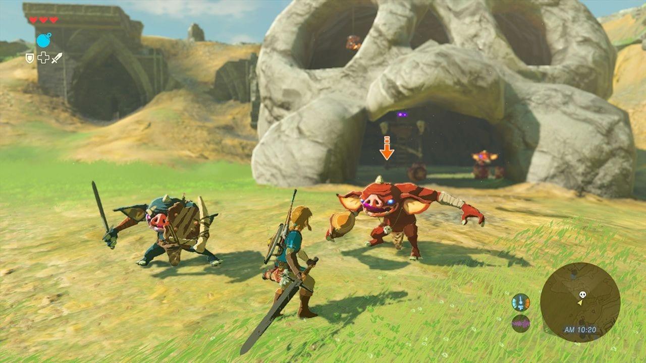 The Legend of Zelda: Breath of the Wild non uscirà insieme a Nintendo Switch