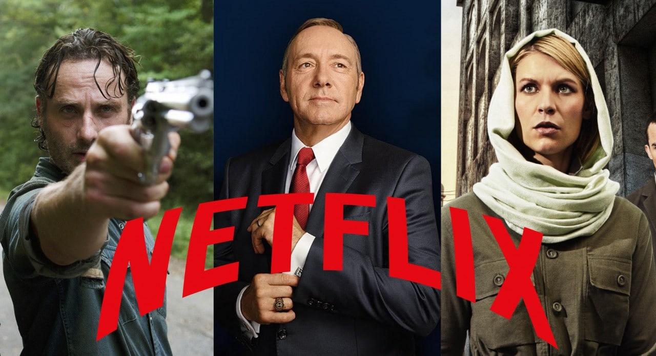 Lunedì sera su Netflix sono apparse serie TV quali Walking Dead, House of Cards e Homeland