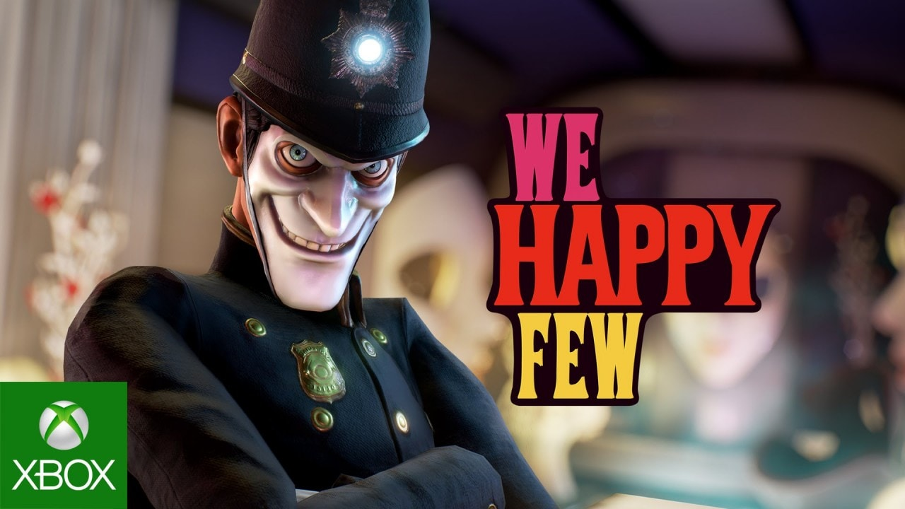 We Happy Few Copertina
