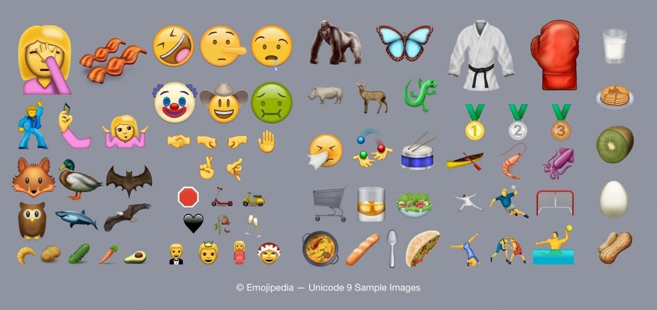 emoji unicode 9