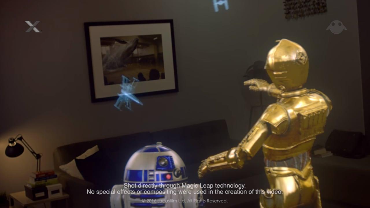 Incontrate C3-PO e R2-D2 grazie alla realtà aumentata (video)