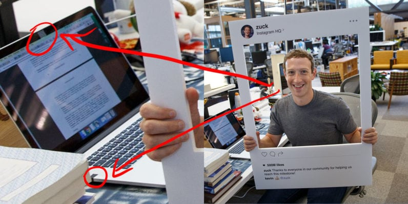 mark zuckerberg nastro isolante