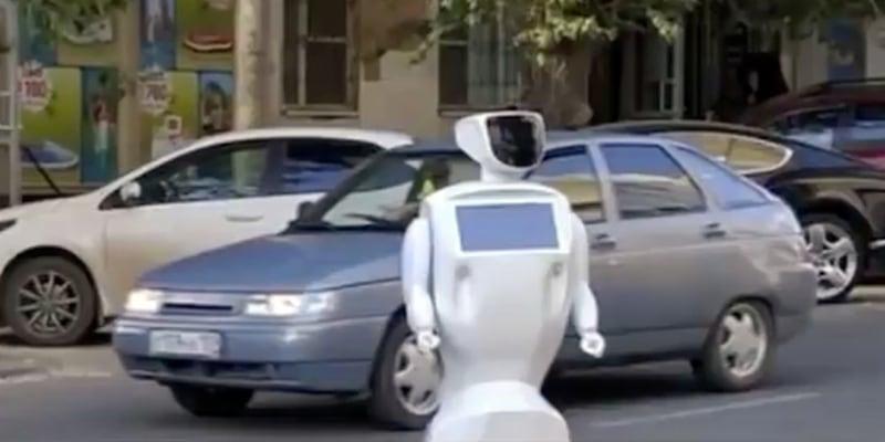 robot fuggito laboratorio ricerca