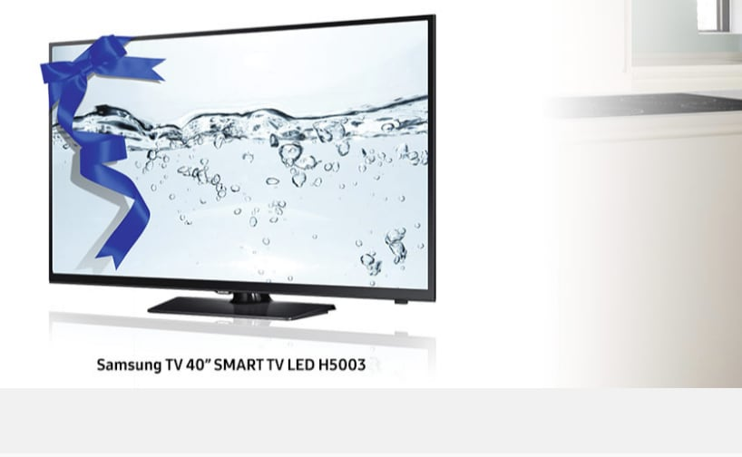 Samsung regala uno smart tv da 40 con il frigo t9000 for Regalo mobile tv