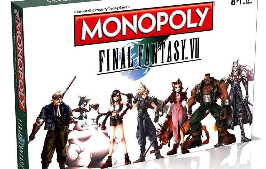 Il Monopoli di Final Fantasy VII arriverà ad Aprile 2017