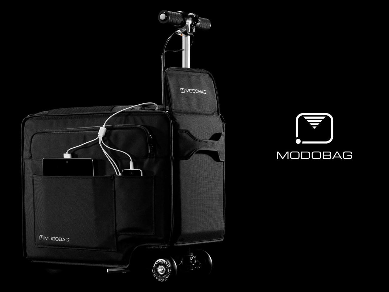 Modobag, la valigia...che si può guidare! (video)