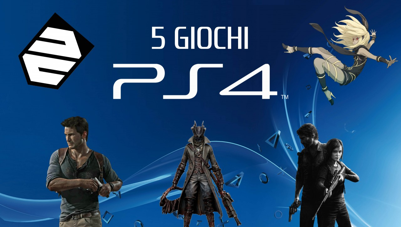 5 Giochi PlayStation 4