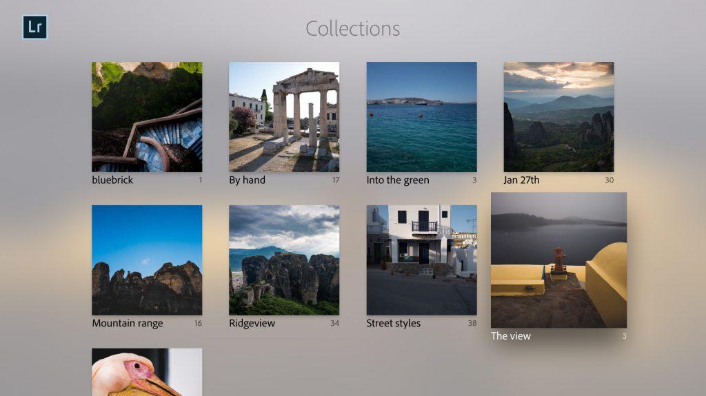 Adobe Lightroom arriva anche su Apple TV (ma non in versione full)