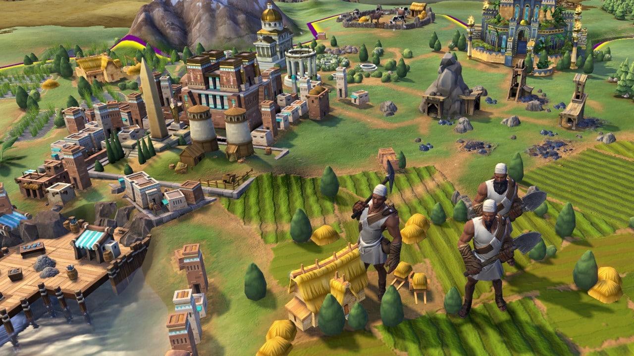 Nel nuovo video di Civilization VI si sgobba, e non poco