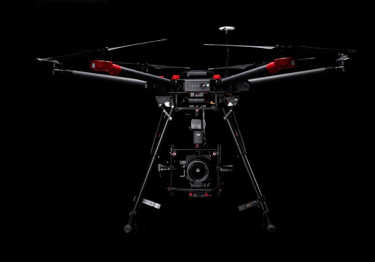 DJI e Hasselblad drone medio formato