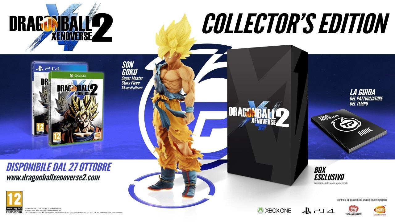 C'è Goku nell'edizione per collezionisti di Dragon Ball Xenoverse 2! (foto e video)
