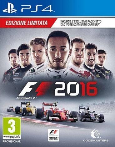 F1 2016 Box Art