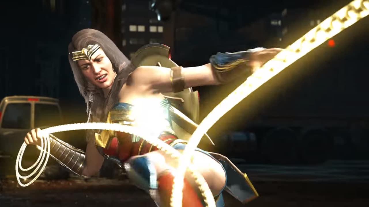 Injustice 2 presenta Wonder Woman e Blue Beetle (video)