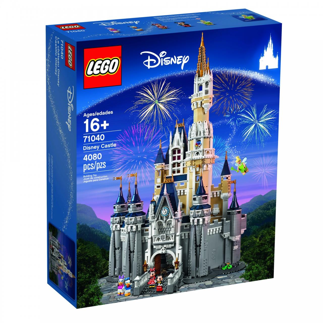 LEGO 71040 The Disney Castle Confezione -  1