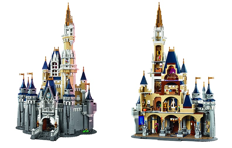 LEGO 71040 The Disney Castle cover