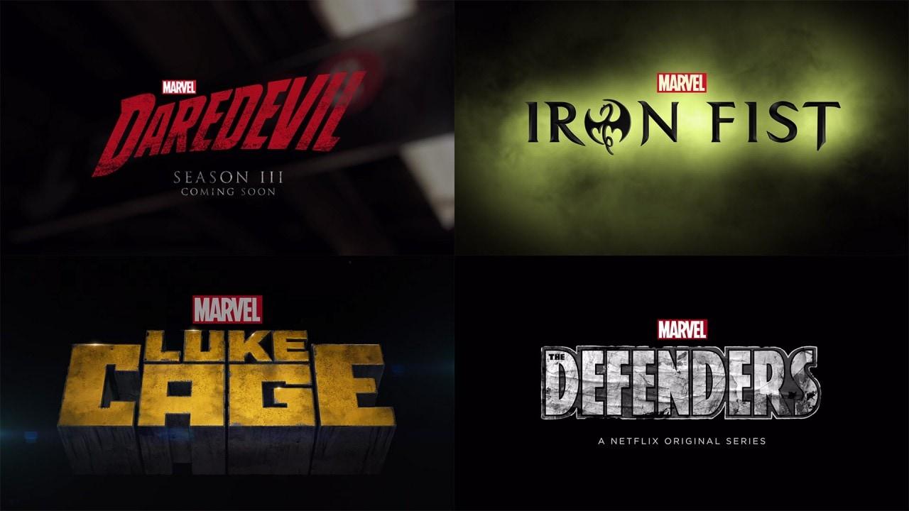 Marvel e Netflix: tre nuovi trailer, un teaser sulla 3° stagione di Daredevil e un extra