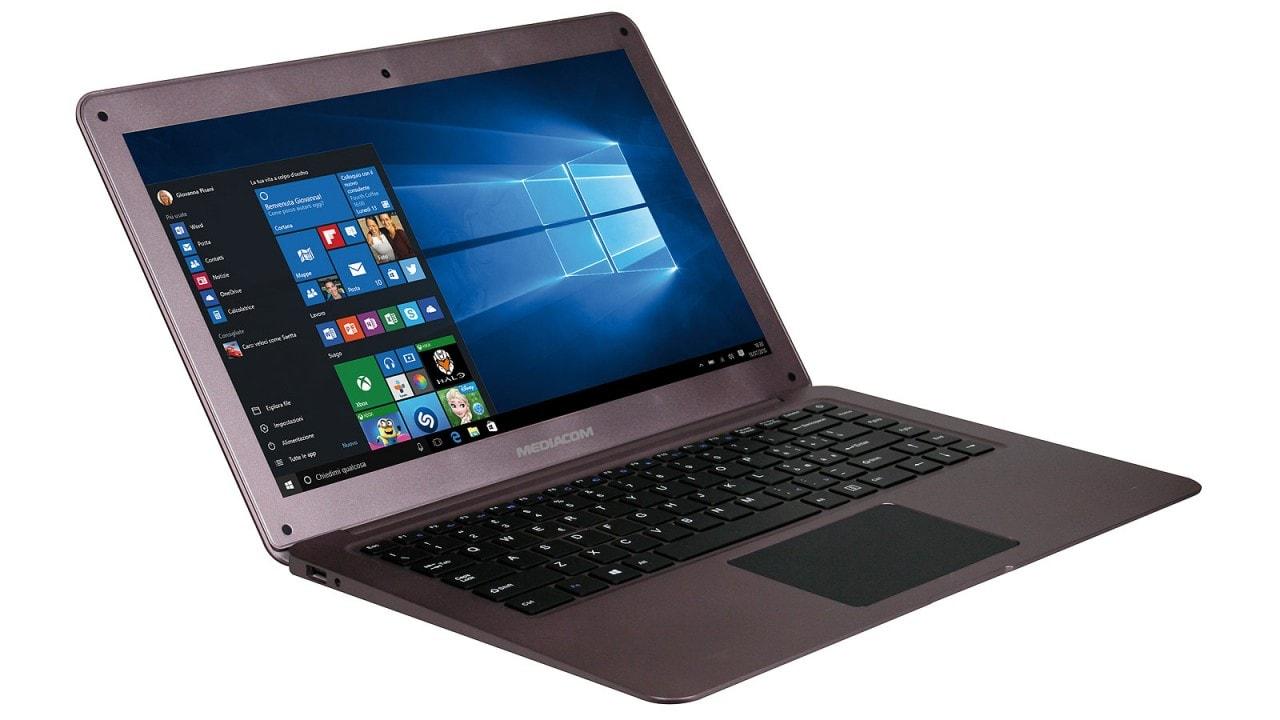 Mediacom SmartBook 14 è un leggero notebook Windows 10 che costa 229€