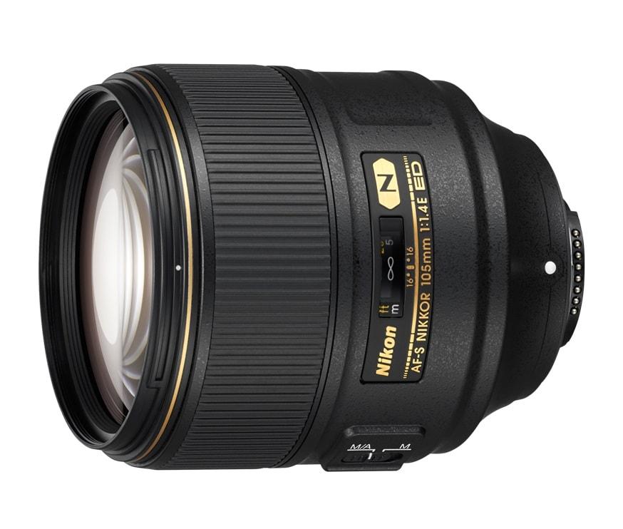 Nikon celebra i 100 milioni di obiettivi con il nuovo Nikkor 105mm f/1,4E ED